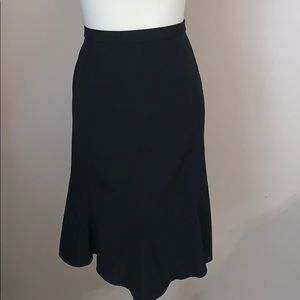 STUDIO 1940 * Black Skirt * Size 16 Flowing Style